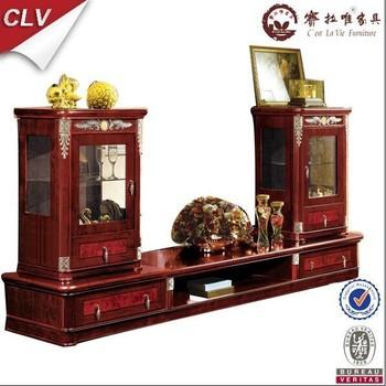Living Room Furniture Design Wood Tv Stand Cabinet Units