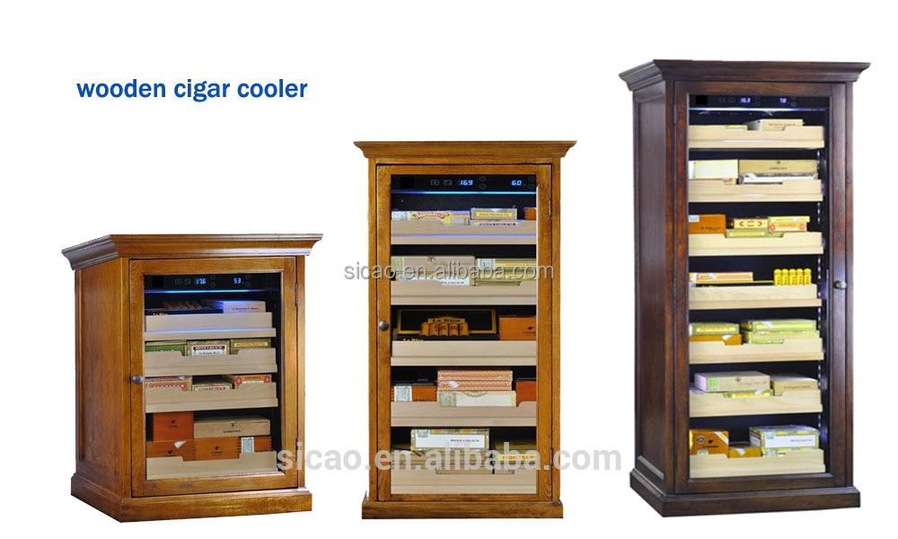 doppelschichten glast r elektrische zigarren humidor schrank f r zu hause zigarrekasten und. Black Bedroom Furniture Sets. Home Design Ideas