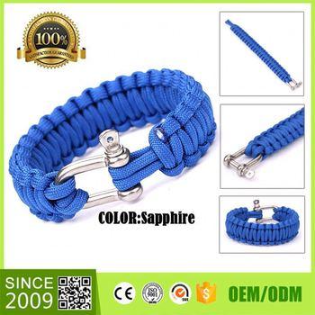 550 Cord Diy Paracord Bracelet Custom Charm Bracelet 2015 Set Mini