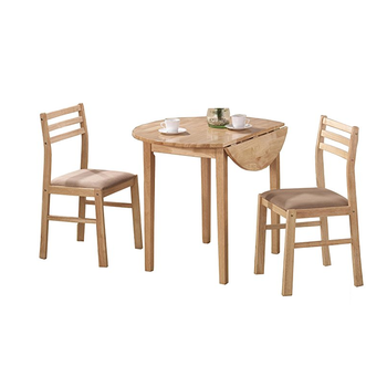 3 Piece Counter Folding Dining Table Chairs Set Natural Furniture For Breakfast Nook Or Entertainment Space Buy Wood Folding Dining Table Set Outdoor Furniture Custom Dining Table Chairs Furniture Set Dining Table And Stools