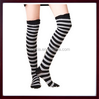 88b0e9b21d7 Girls Ladies Women Fancy Knee High Socks