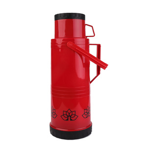 Red Cheap Tea Sport Plastic Vacuum Flask vs Thermos in Cameroon