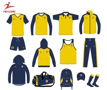A Series Of Soccer Training Team Set Uniform Jersey Clothing Sportswear
