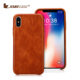 Genuine leather phone case phone case back cover phone charging case for iphone X