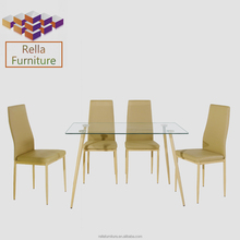 Modern furniture design dinning table set used restaurant table and chair