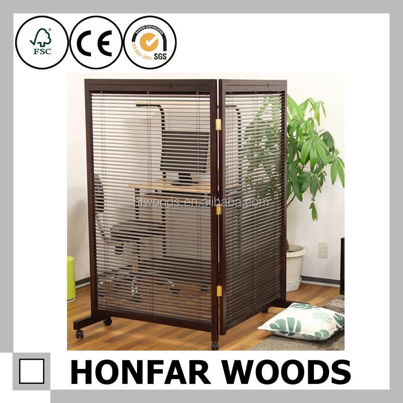 Honfar Sgs Room Dividers Folding Screenswooden Folding Screen Room