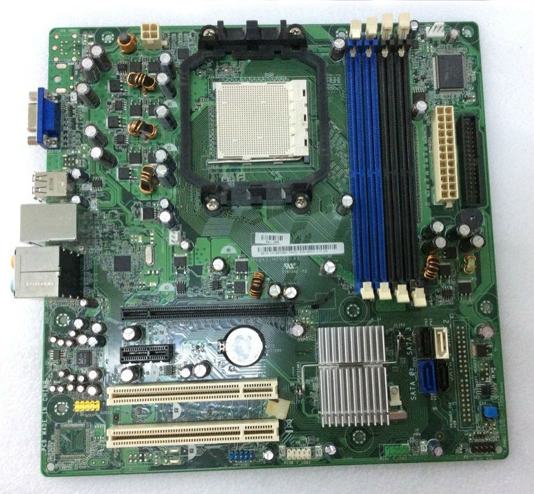 Atx Desktop Computer Motherboard Ry206 M2n61-ax For Dell Inspiron ...