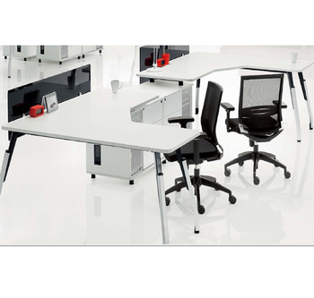 High Quality Simple Design Two Seater Executive Workstation Office Furniture China Factory
