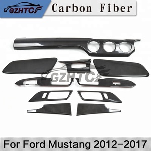 2012-2017 For ford Mustang left driving interior decoration carbon fiber for Mustang