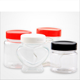 Unique design star shape small wide mouth pet jar in malaysia for food packing
