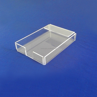 Custom 4x6 Clear Acrylic Note Pad Holder Memo Pad Holder