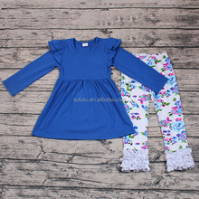 wholesale girls elegant 2pcs sets , high quality childrens clothing sets, cheap china wholesale kids clothing