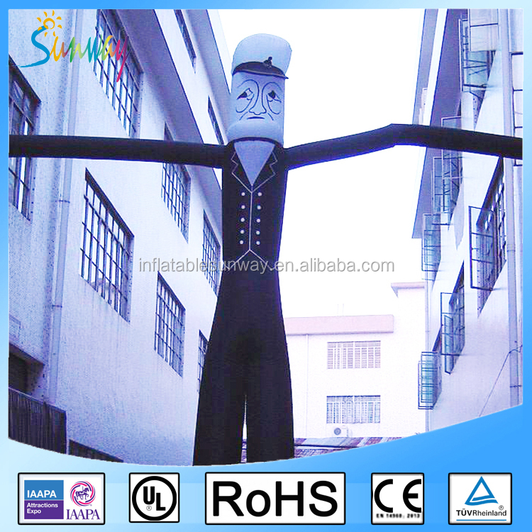 8m Inflatable Air Dancer Chef Sky Dancer for Sale