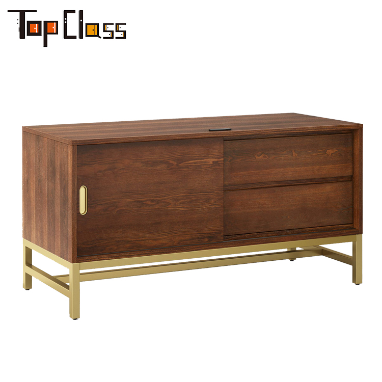 High Quality Antique Furniture 2 drawers 1 doors Living Room Storage Cabinet