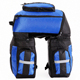 Durable Multi-Fonction Bicycle Rear Carrier Pack Trunk Bike Pannier Bag