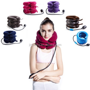 cervical / neck traction inflatable Neck massage collar neck traction device