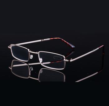 Louco De Venda De Grau Superior De Metal Dobrável Óculos De Leitura ... 4baeef8b05