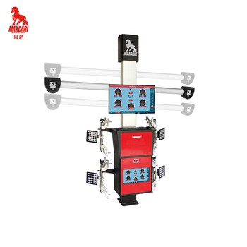 MAXCARL hot sale factory high accuracy 3d wheel alignment machine price for sale