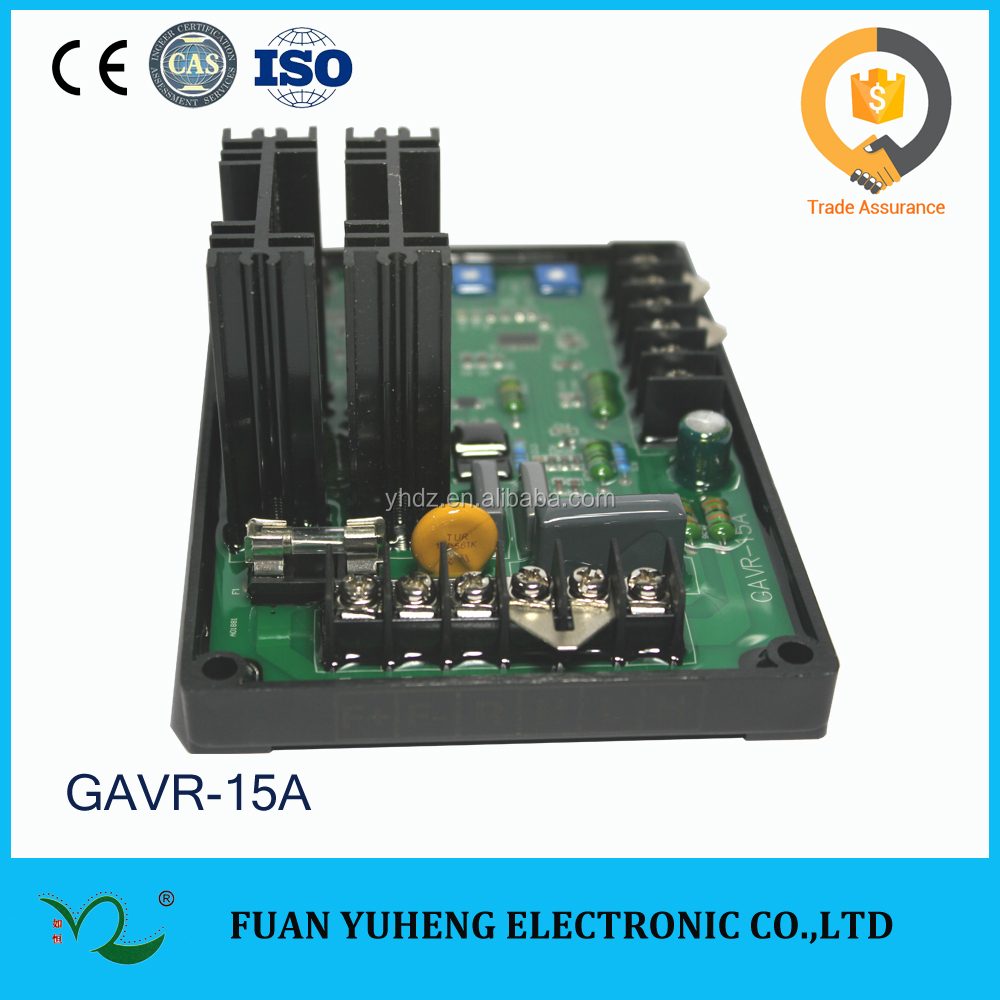 China top 1!!! Automatic Voltage Regulation Board GAVR 12A 15A 8A Universal AVR