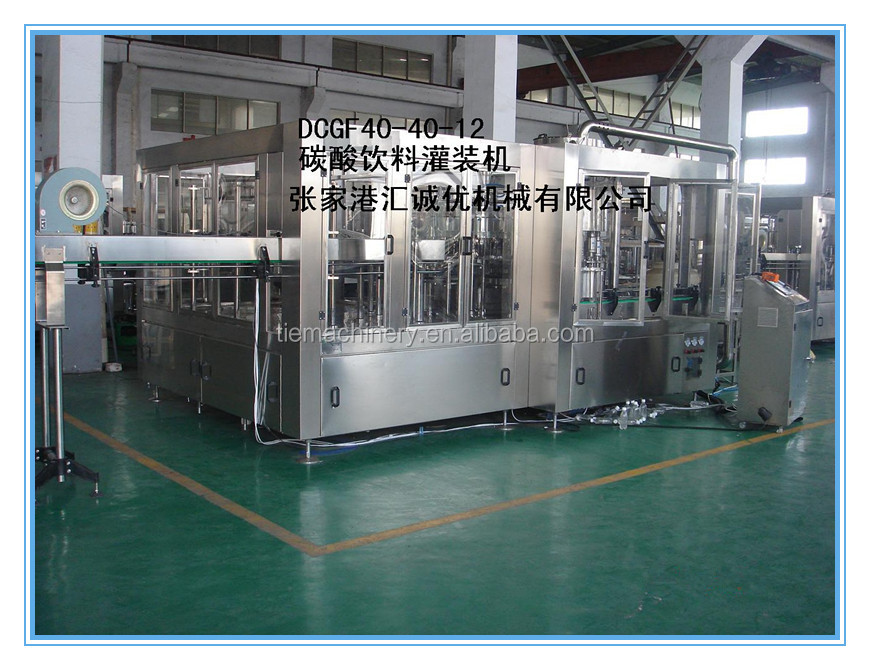 New Technology Carbonated Drinks Filling Machine/Soda Filling Machine/Sparkling Water
