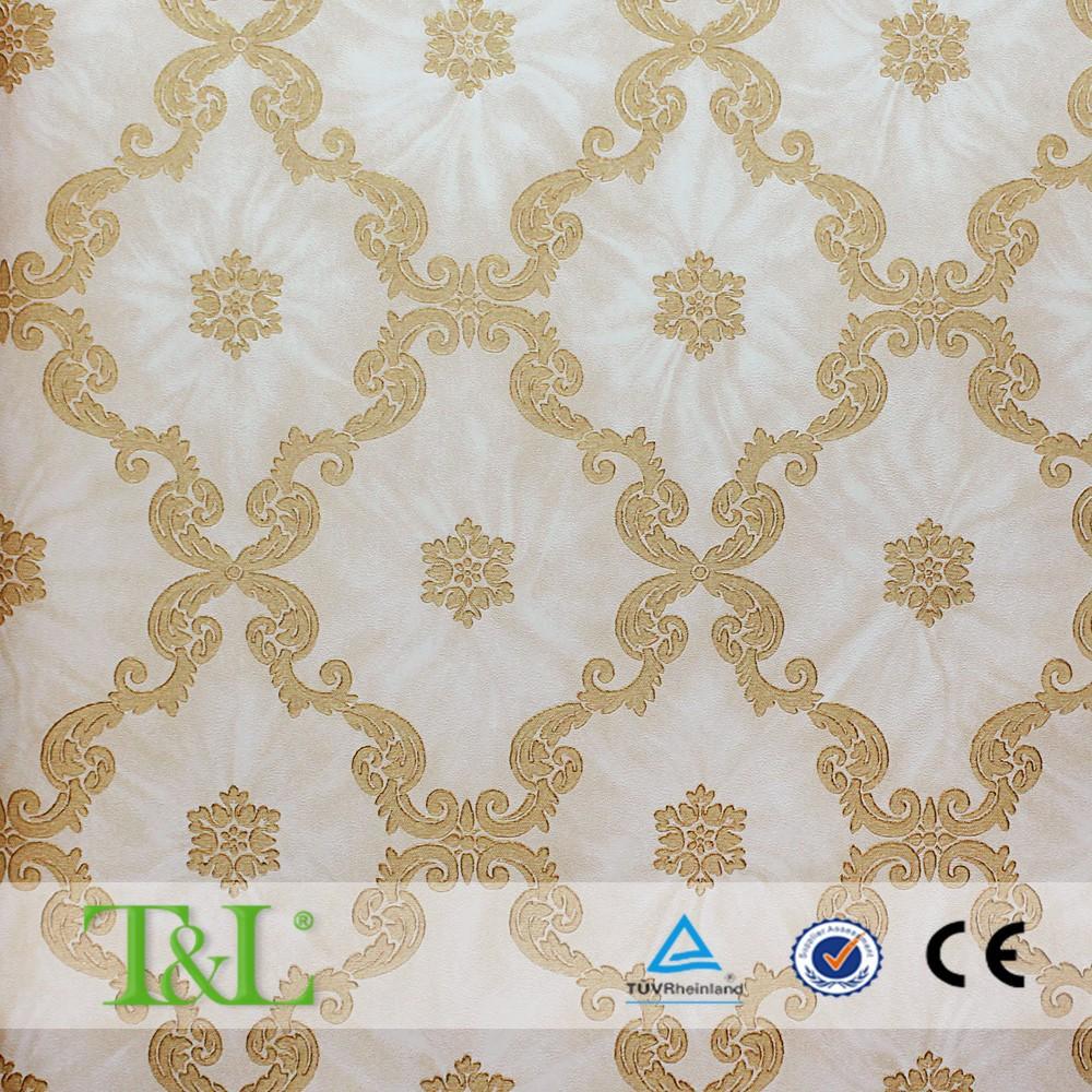 vinyl wallpaper for restaurant decoration, vinyl wallpaper for