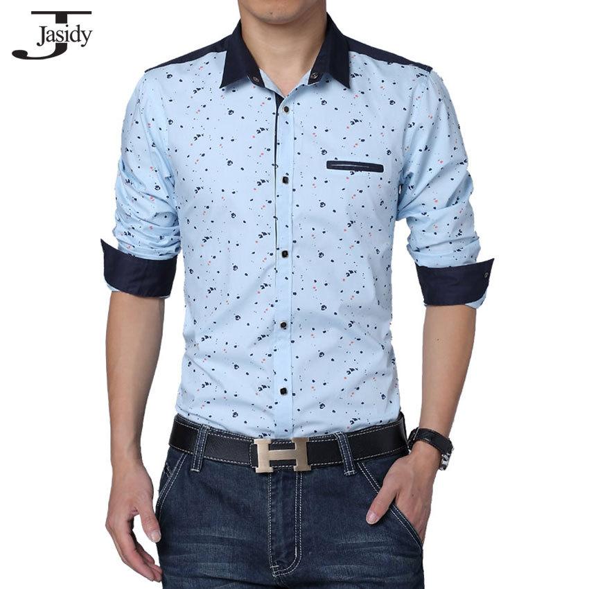 9b201d19542e M - 5XL Print Mens Floral Shirt Long Sleeve Fashion Casual Camisa Floral  Shirts For Men Fashion Slim Sit Men Clothes No.C156