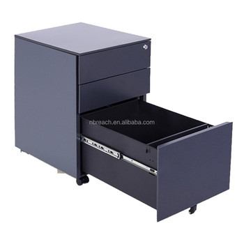 2 Drawers Vertical Steel Picture Cabinet ,index Card File Cabinet For Data  Storage