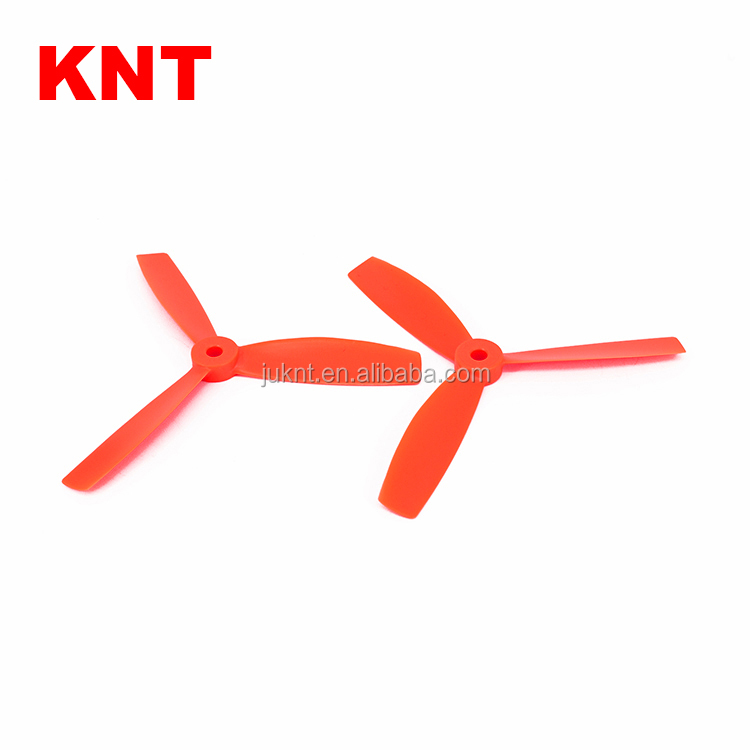 KNT FPV Plastic Tri- Blade Propeller 5045 CW CCW Drone Props for Multirotor