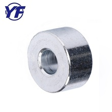 Factory price steel thick bushing , customized anodized washer , motorcycle spare parts