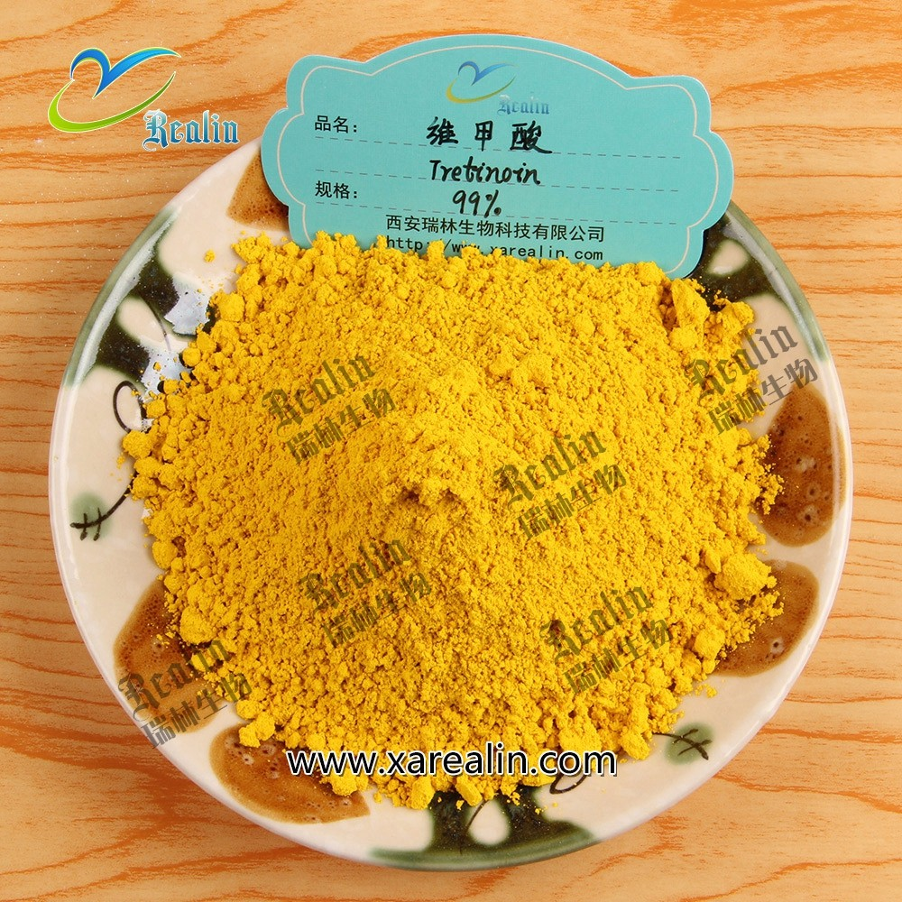 Cosmetic Ingredients High Purity 99% retinoic acid powder