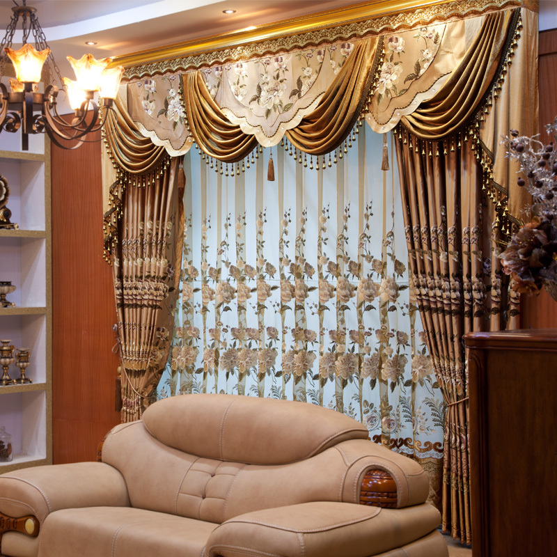 High End Decorative Living Room European Style Luxury: Ou Mandi Chinese High End European Style Embroidered