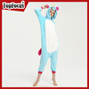 Wholesale custom heated couple sexy animal pajamas plus size unicorn adult onesie