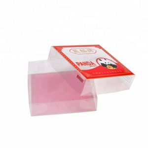 Custom Printed Clear Box Lid And Bottom, Transparent Gift Box