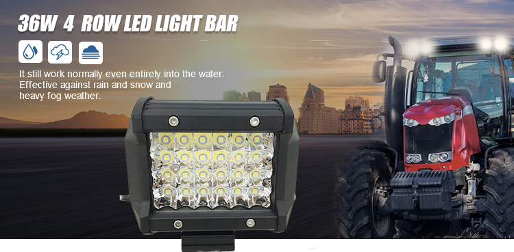 Grosir Super Terang Crees 36W Mobil LED Bar Lampu