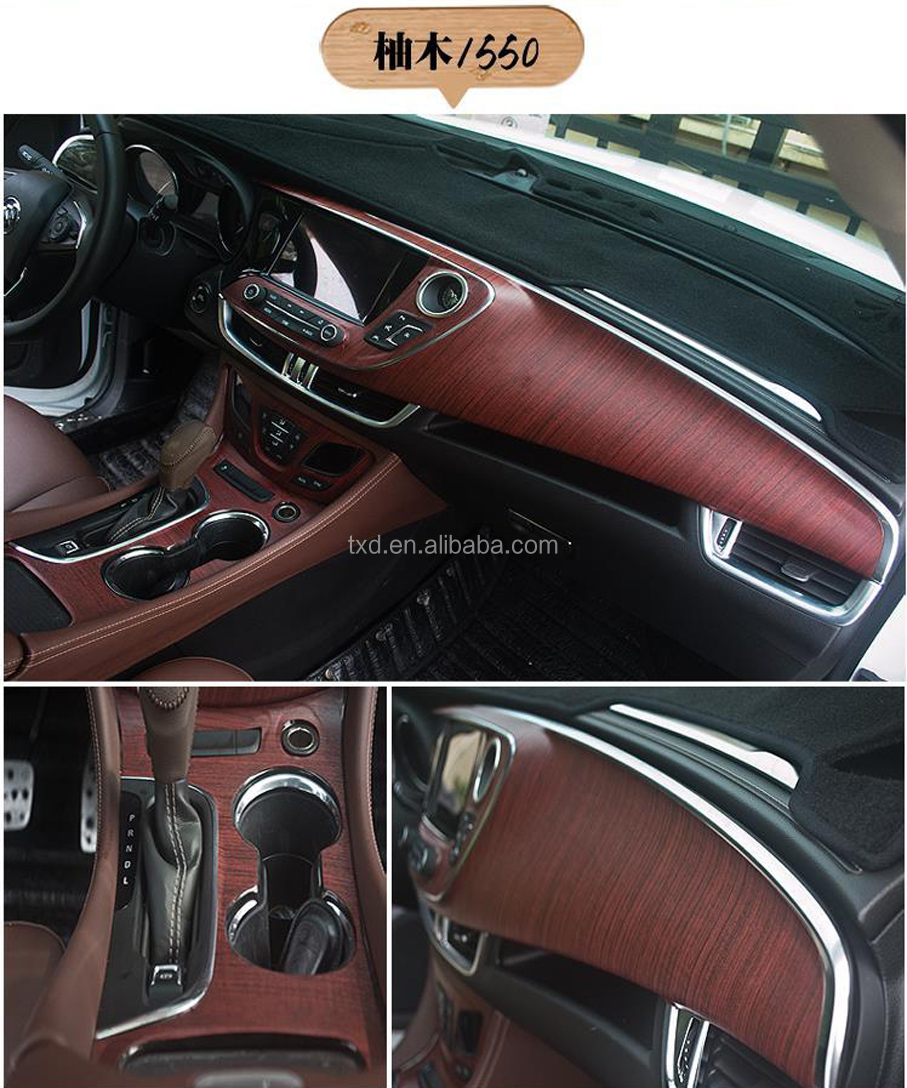 wood grain film fiber vinyl wrap car sticker moto auto interior pvc film buy wood. Black Bedroom Furniture Sets. Home Design Ideas