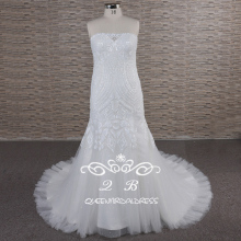 Grosir Galina <span class=keywords><strong>Lemak</strong></span> <span class=keywords><strong>Ukuran</strong></span> Pernikahan <span class=keywords><strong>Gaun</strong></span> Gemerlapan Tulle Mermaid Wedding Dress