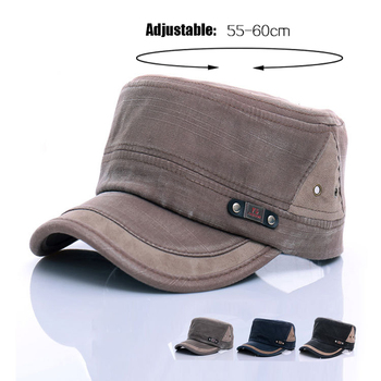 new style blank retro vintage caps with rivet camo fedora hunting topee  promotional cheap hats flat 13c9d0f6ffcd