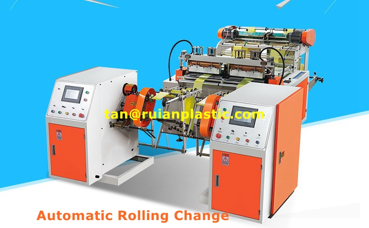 Rolling Garbage Bag Making Machine