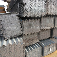 Carbon Steel angle with garde JIS SS400 SS490 also called Iron bar