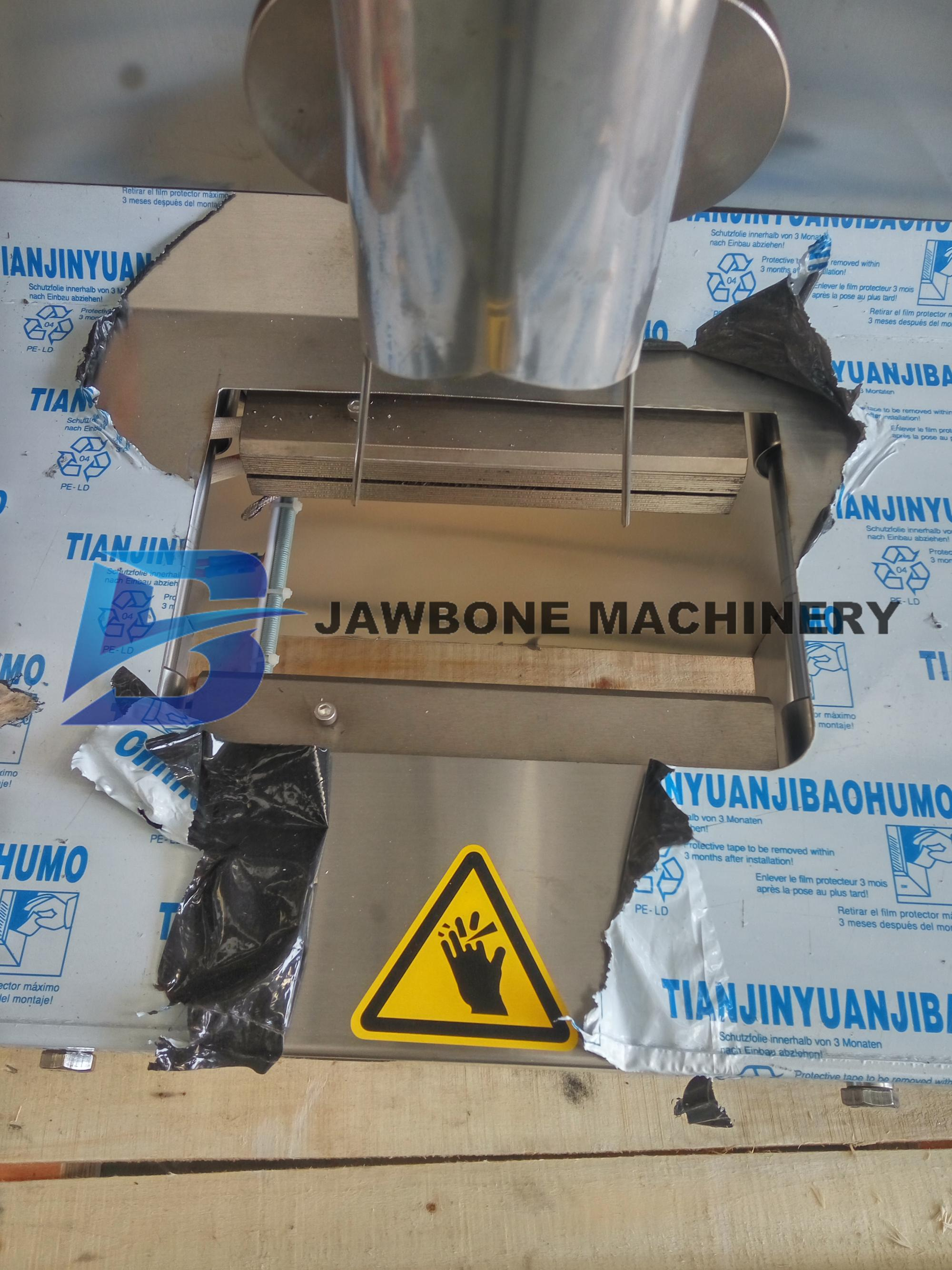 JB-300K 100 г мешок попкорна автоматическая упаковочная машина для еды