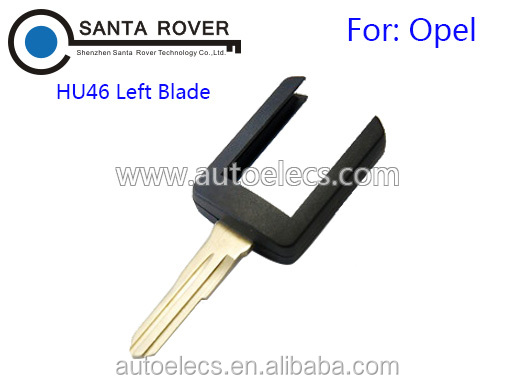 Remote Key Head For Opel Vauxhall HU46 Left Blade