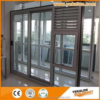 YEKALON Double Glazing Aluminium Folding Door Australia Standard ...