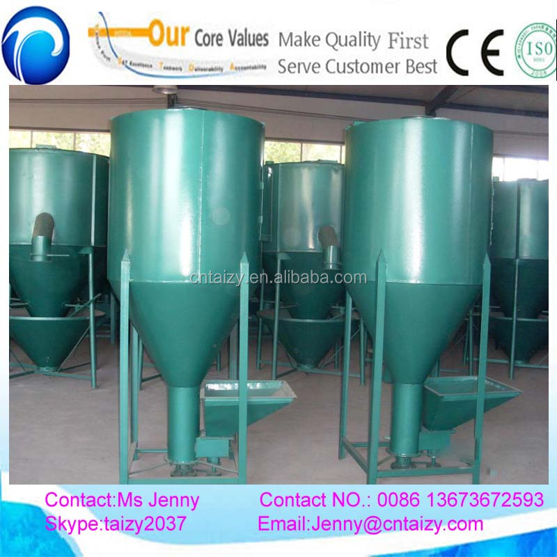 animal poultry livestock feed mixer/vertical type grain seed mixer/electric feed mixer