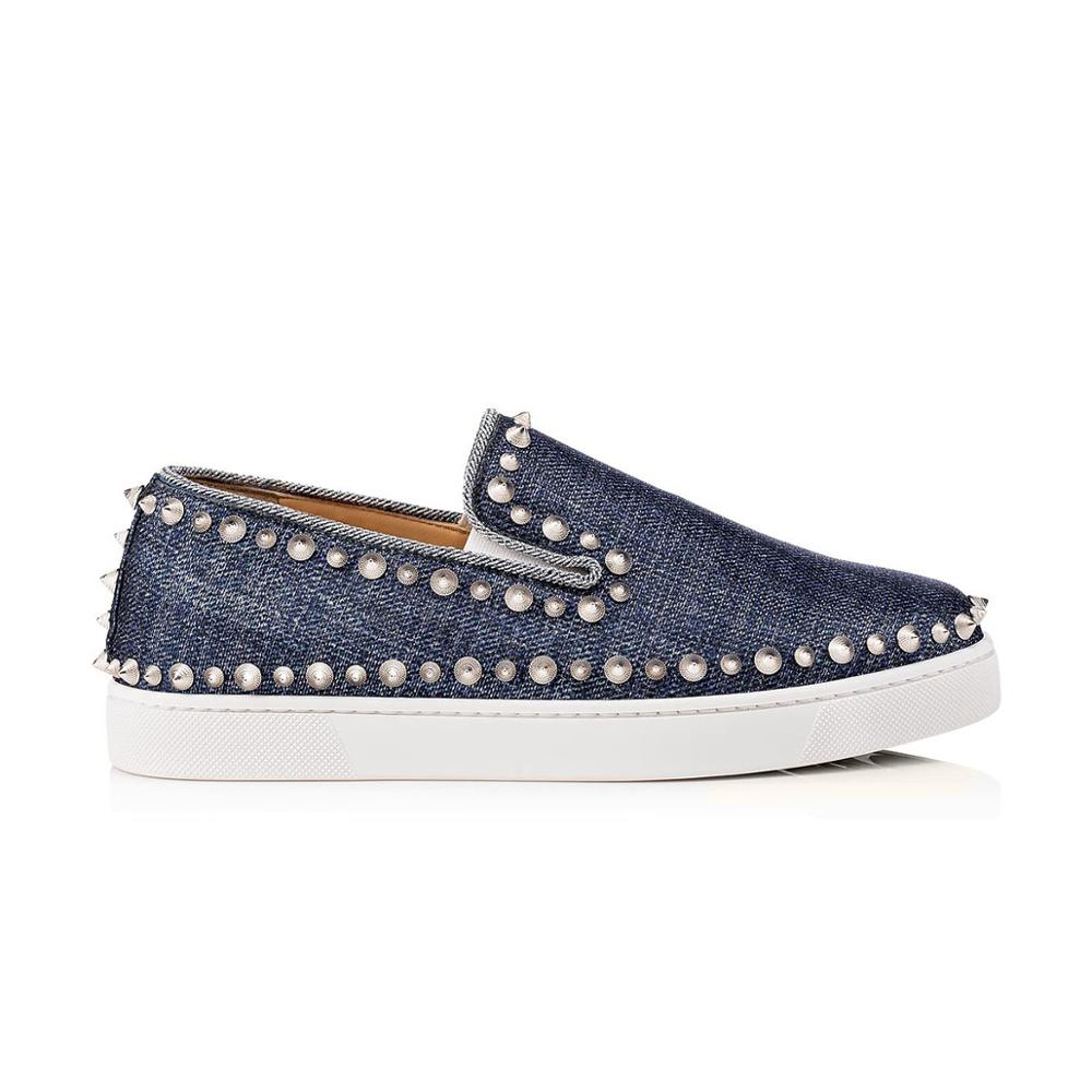 Espadrille Shoes Metal Women Casual Loafers Studs AUzOwO