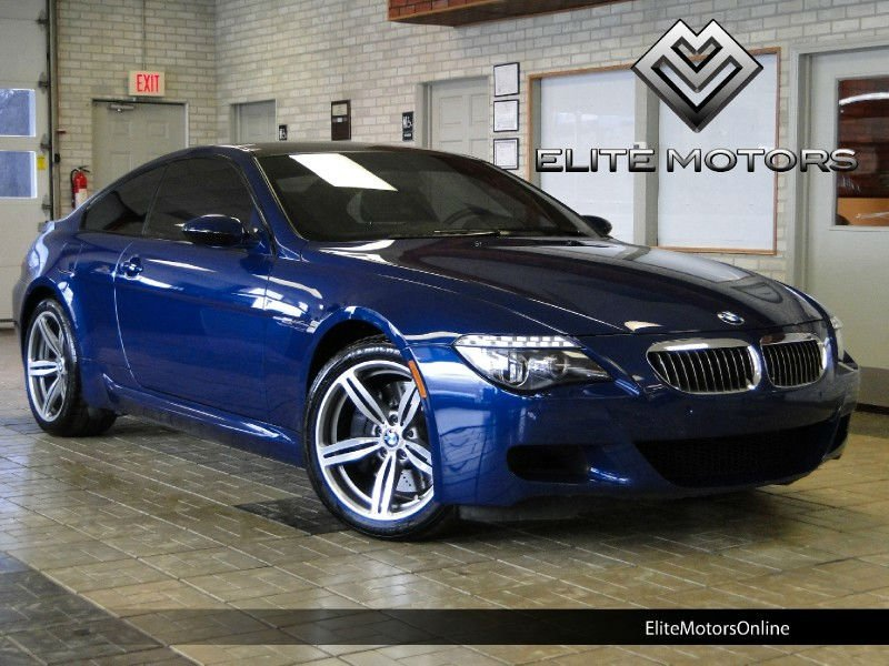 2008 BMW M6 COUPE 6SPD PREM SOUND PDC 1-OWNER PERFECT