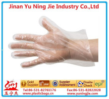 pe disposable gloves / transparent plastic gloves/gloves