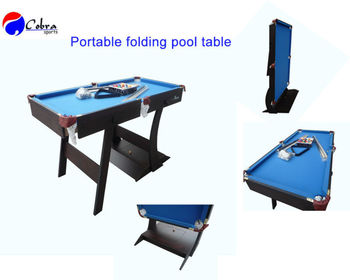 Portable Billiard Table,6 Feet Pool Table,Home Kids Foldable Game Billiard  Table,