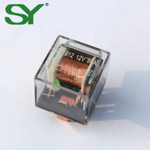 China supplier 4pin 30A auto fuse relay with connector relay