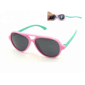 d71cc35c8e5 Custom Flexible Unbreakable Rubber Polarized Sunglasses For Kids ...