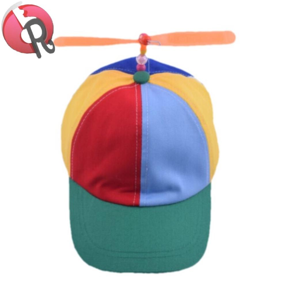 fbe2028bc7dd4 Multi Colored Baseball Cap With Propeller - Buy Propeller Hat ...